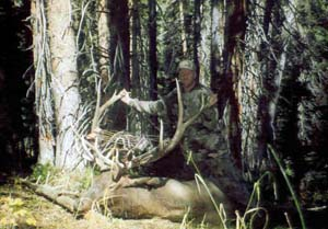 James with his archery elk